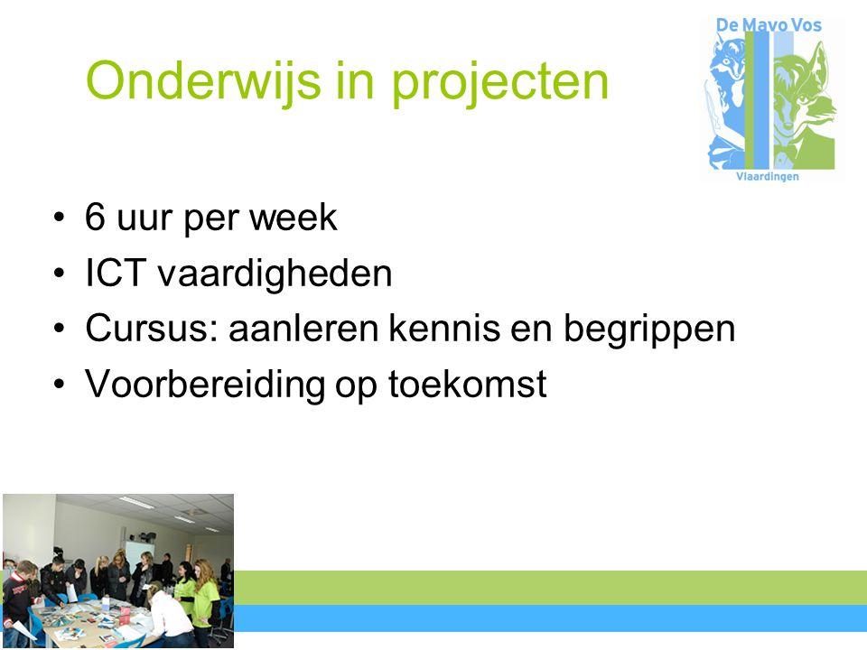 Onderwijs in projecten