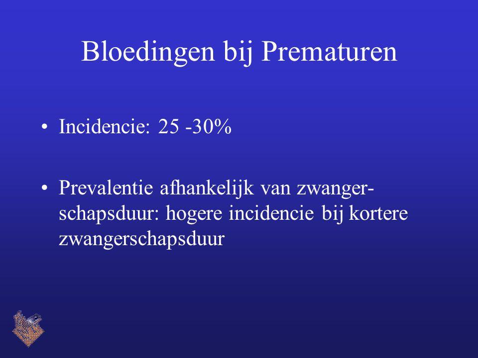 Bloedingen bij Prematuren