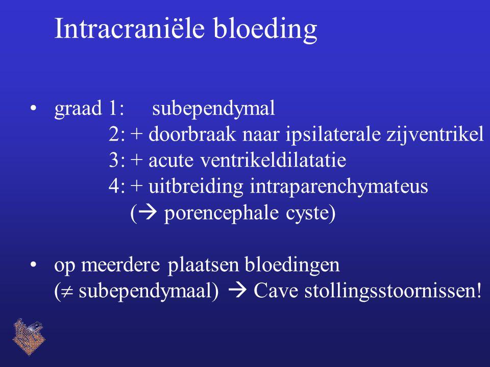 Intracraniële bloeding