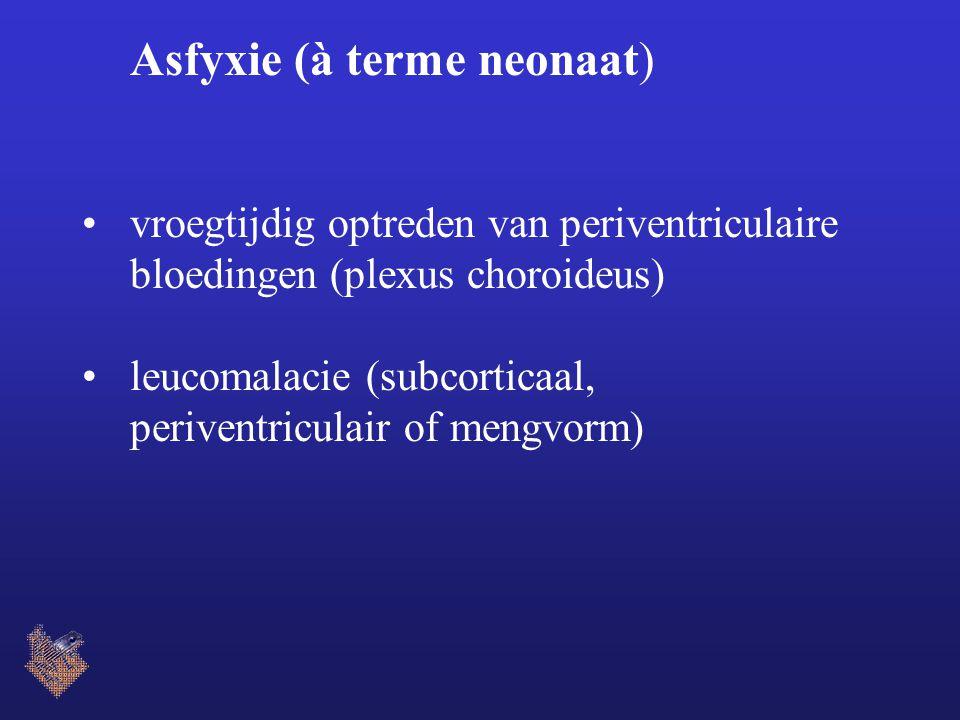 Asfyxie (à terme neonaat)