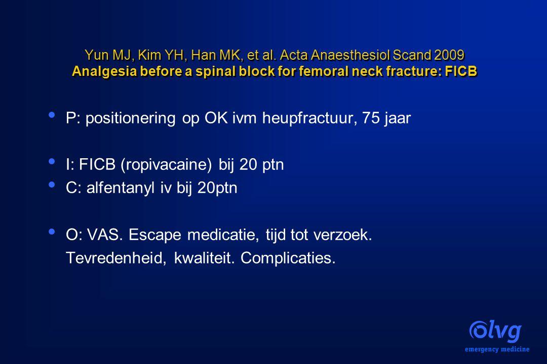 P: positionering op OK ivm heupfractuur, 75 jaar