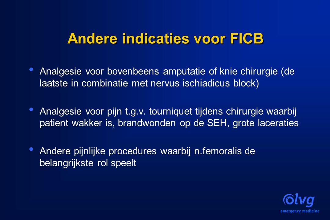 Andere indicaties voor FICB