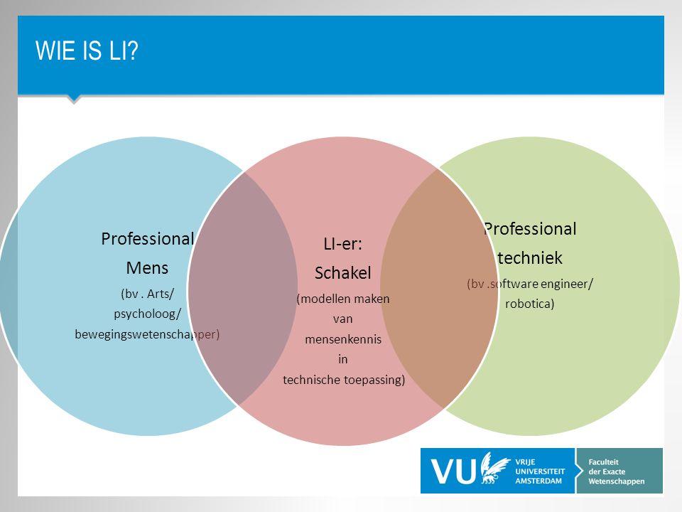 Wie is LI Professional Professional LI-er: Schakel techniek Mens