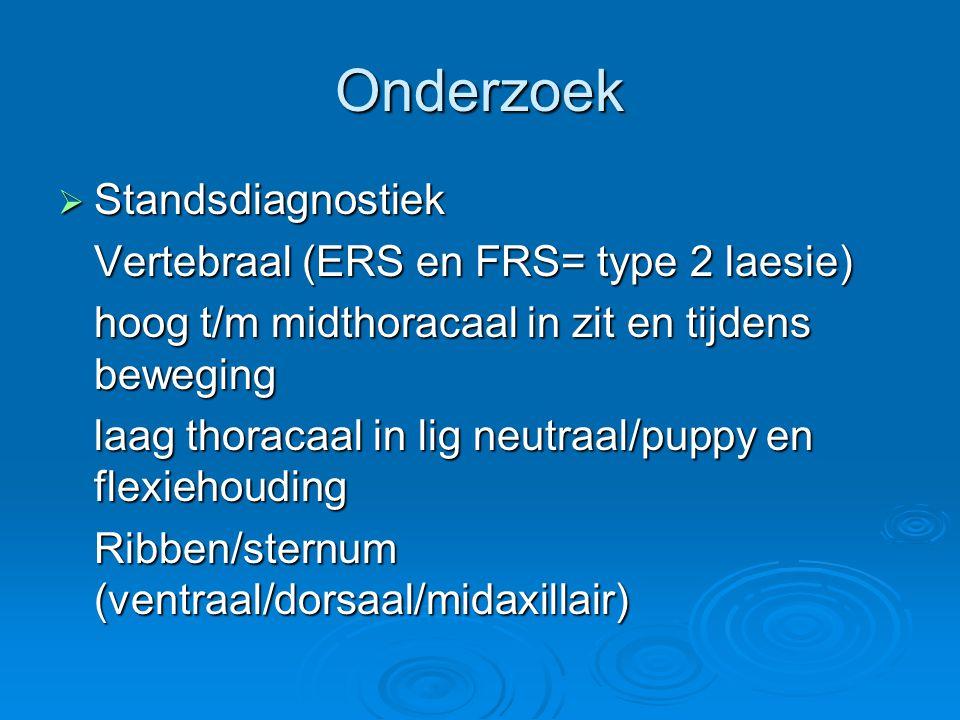 Onderzoek Standsdiagnostiek Vertebraal (ERS en FRS= type 2 laesie)