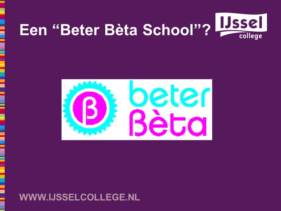 Een Beter Bèta School