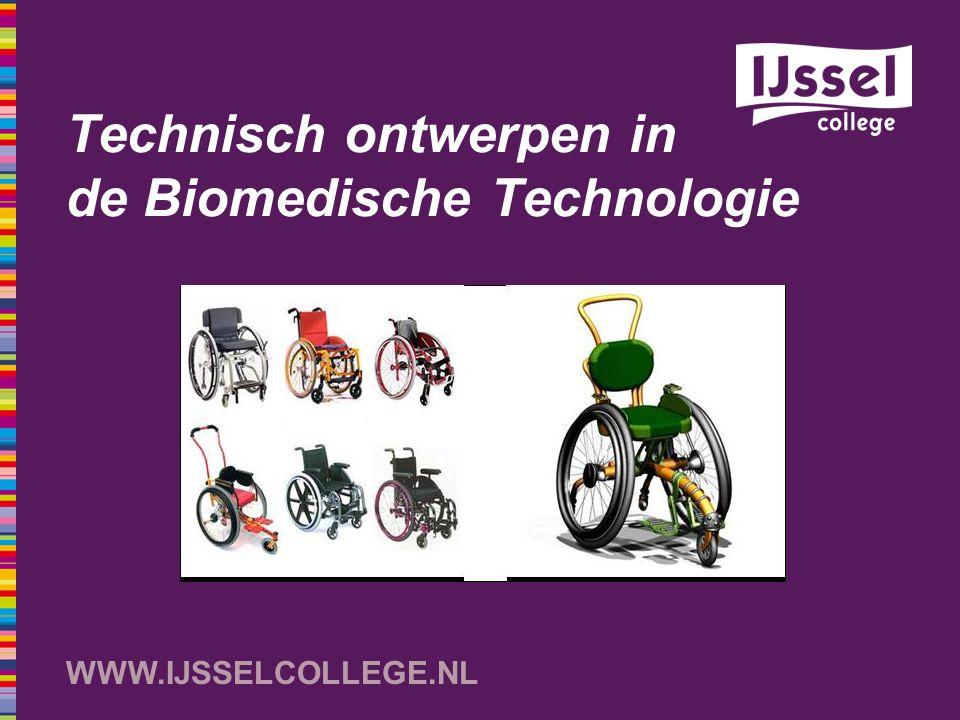 Technisch ontwerpen in de Biomedische Technologie