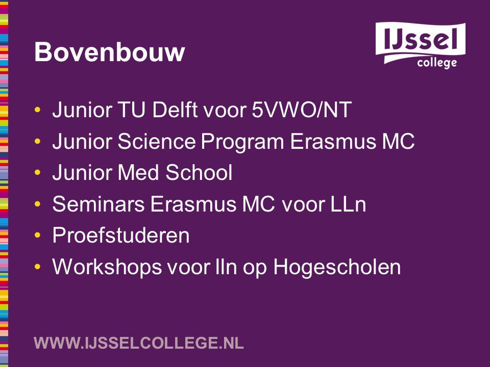 Bovenbouw Junior TU Delft voor 5VWO/NT