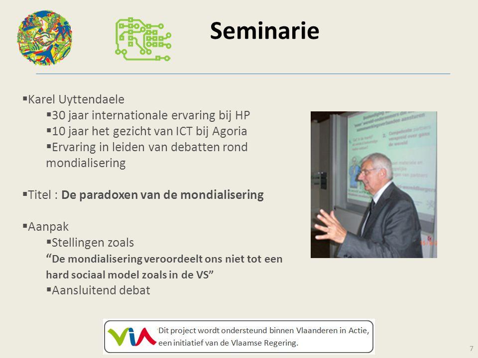 Seminarie Karel Uyttendaele 30 jaar internationale ervaring bij HP