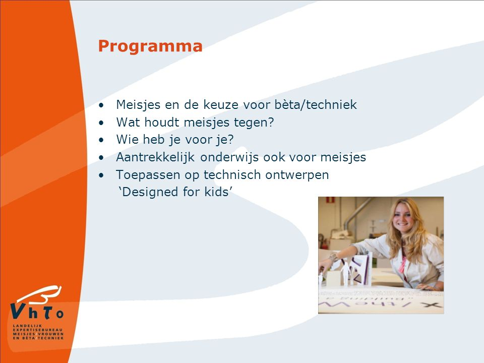 Programma Meisjes en de keuze voor bèta/techniek