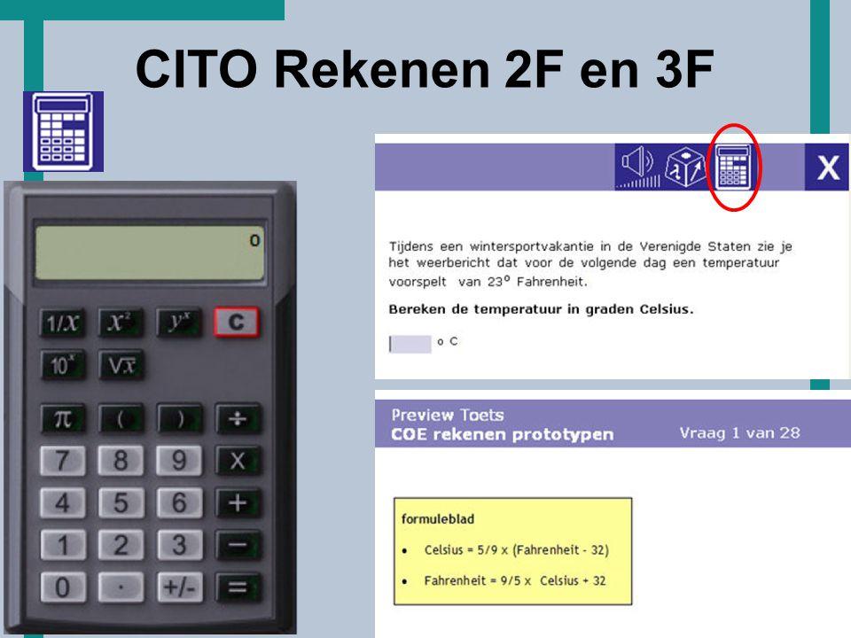 CITO Rekenen 2F en 3F