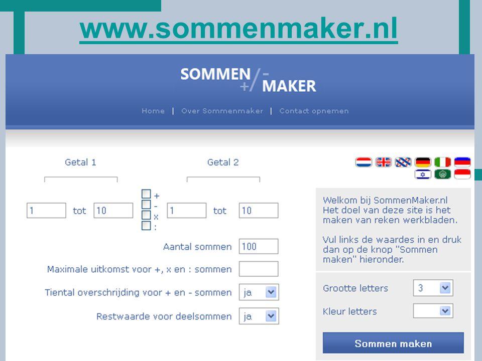 www.sommenmaker.nl