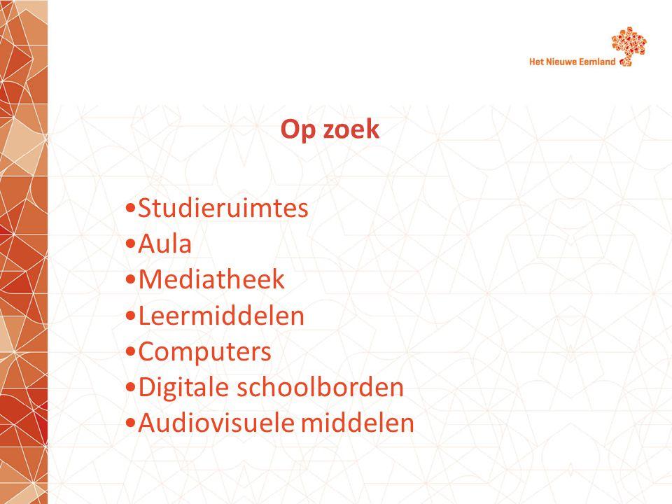 Digitale schoolborden Audiovisuele middelen