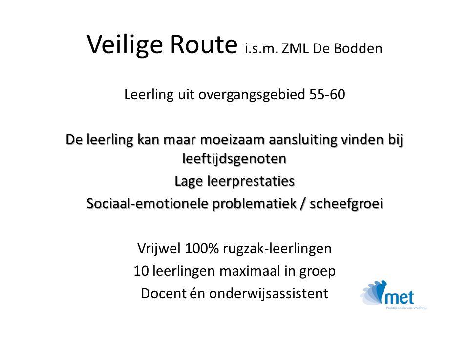 Veilige Route i.s.m. ZML De Bodden
