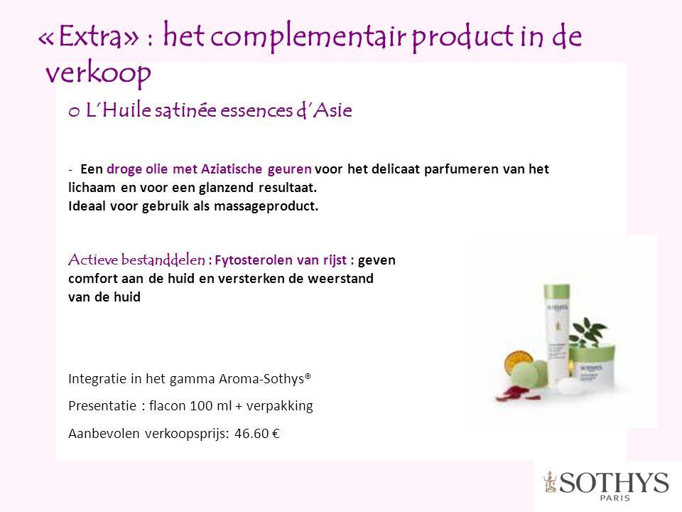 «Extra» : het complementair product in de verkoop