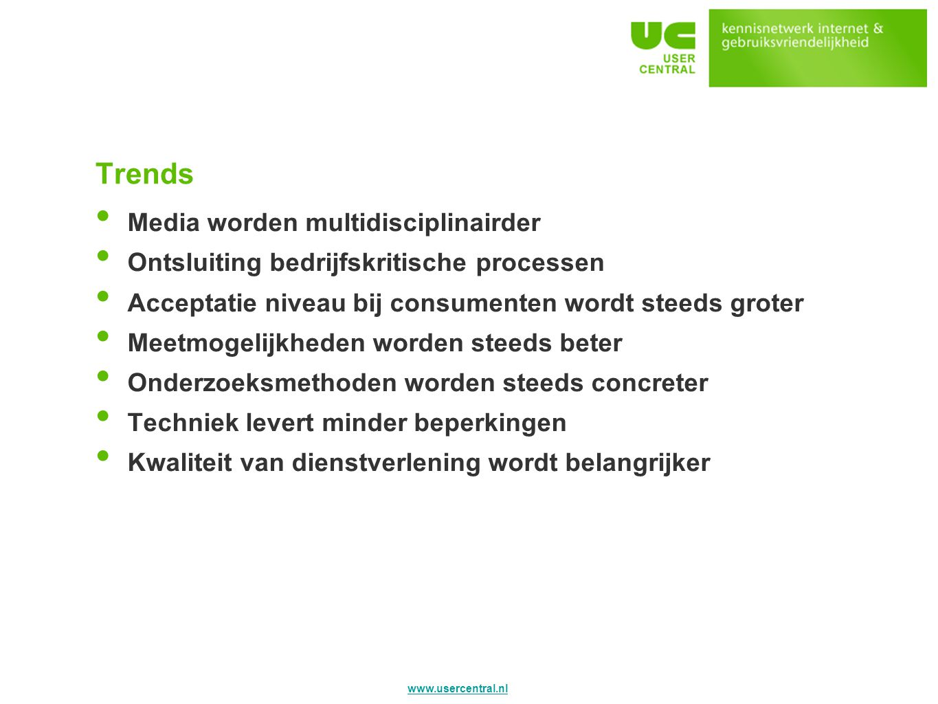 Trends Media worden multidisciplinairder