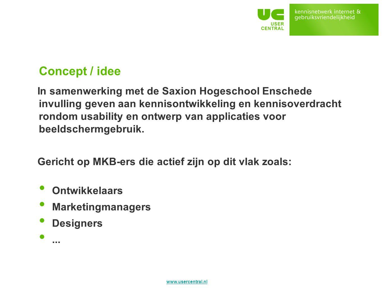 Concept / idee