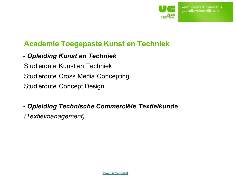 Academie Toegepaste Kunst en Techniek