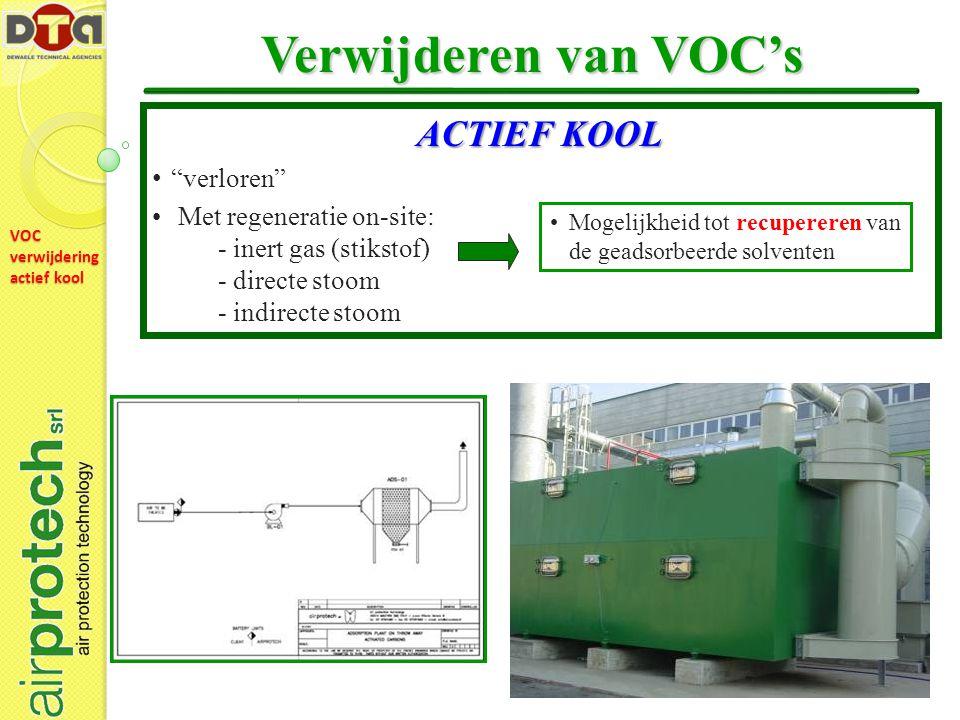 VOC verwijdering actief kool