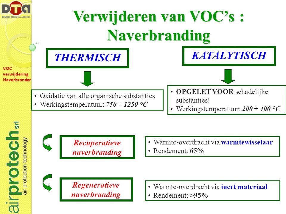 VOC verwijdering Naverbrander