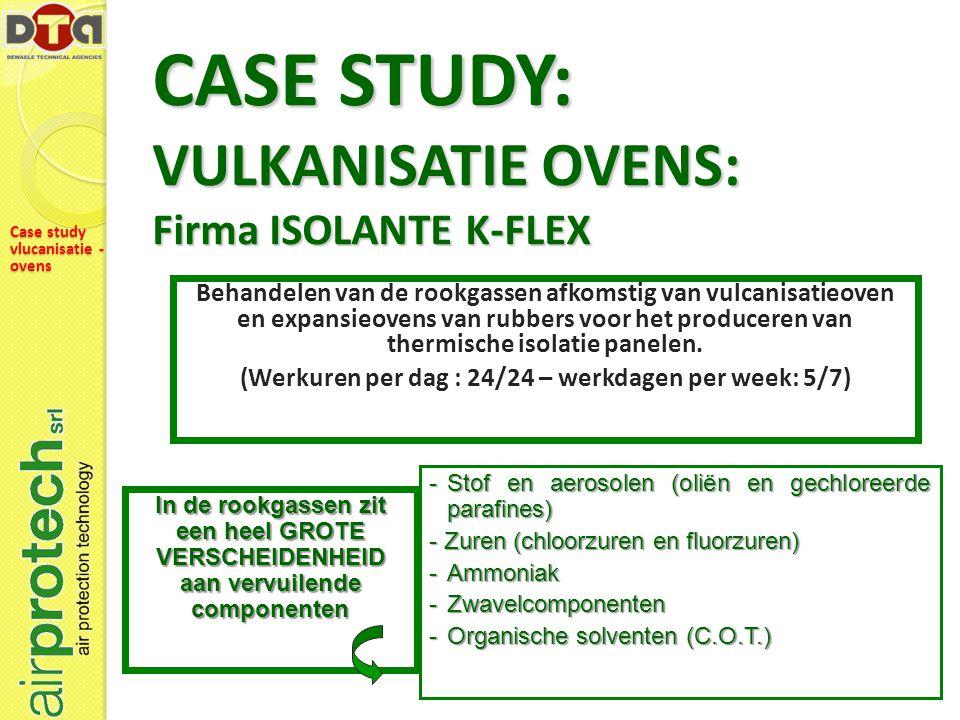 CASE STUDY: VULKANISATIE OVENS: Firma ISOLANTE K-FLEX
