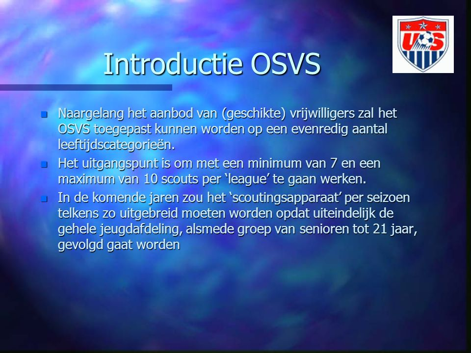 Introductie OSVS