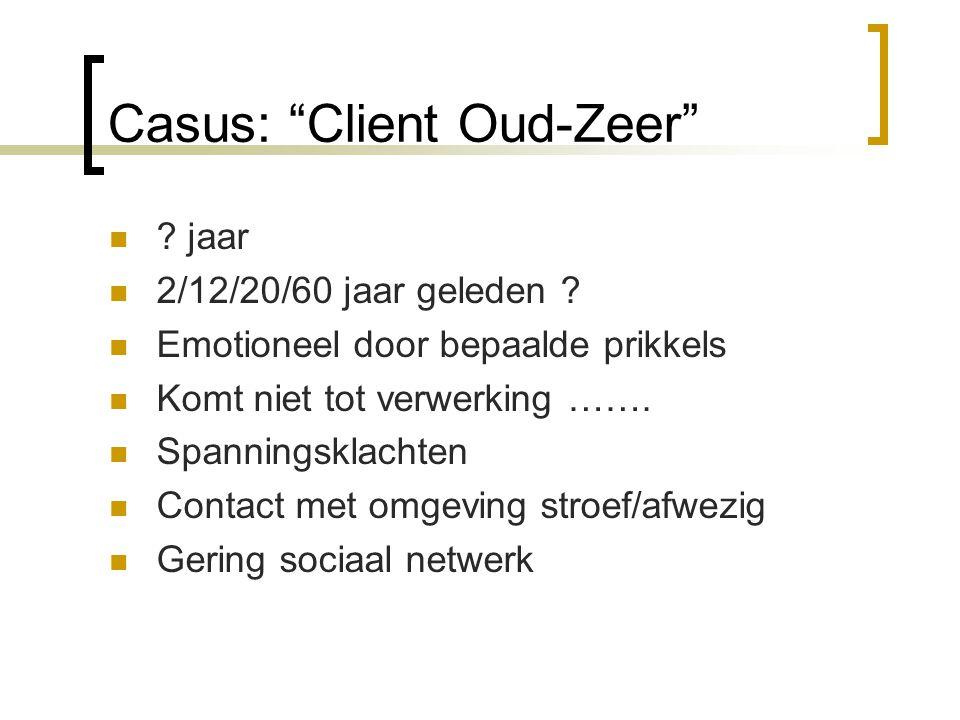 Casus: Client Oud-Zeer