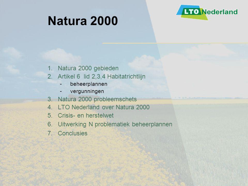 Natura 2000 1. Natura 2000 gebieden
