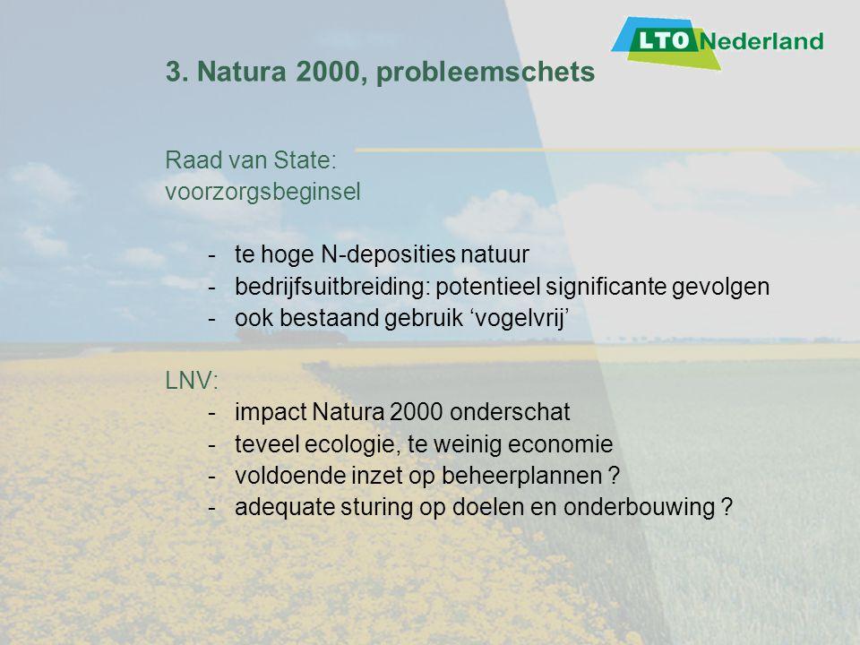 3. Natura 2000, probleemschets