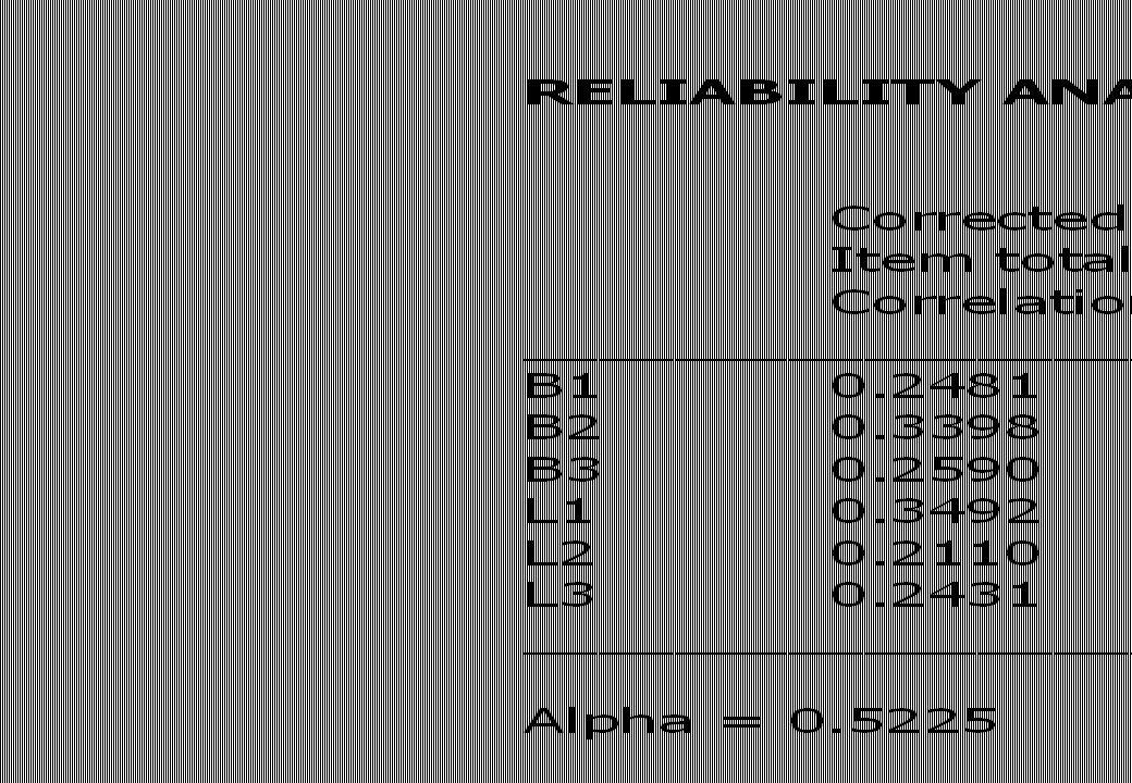 Betrouwbaarheid is gebaseerd op correlaties