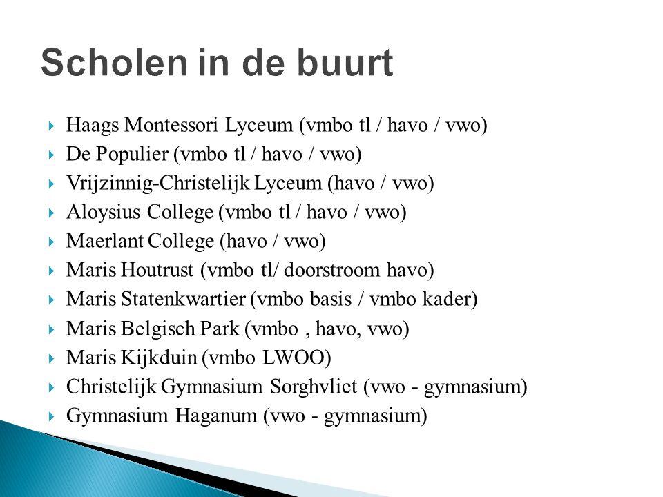 Scholen in de buurt Haags Montessori Lyceum (vmbo tl / havo / vwo)