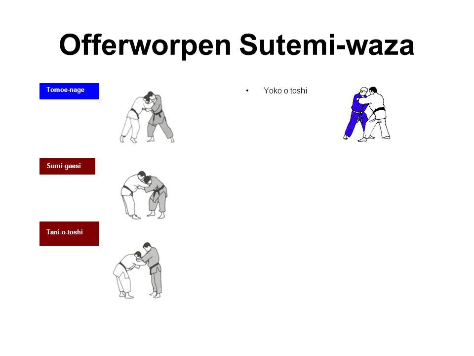 Offerworpen Sutemi-waza