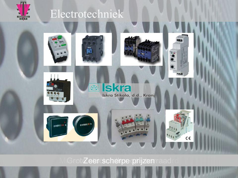 Electrotechniek Zeer scherpe prijzen Materiaal CE – UL – CSA gekeurd