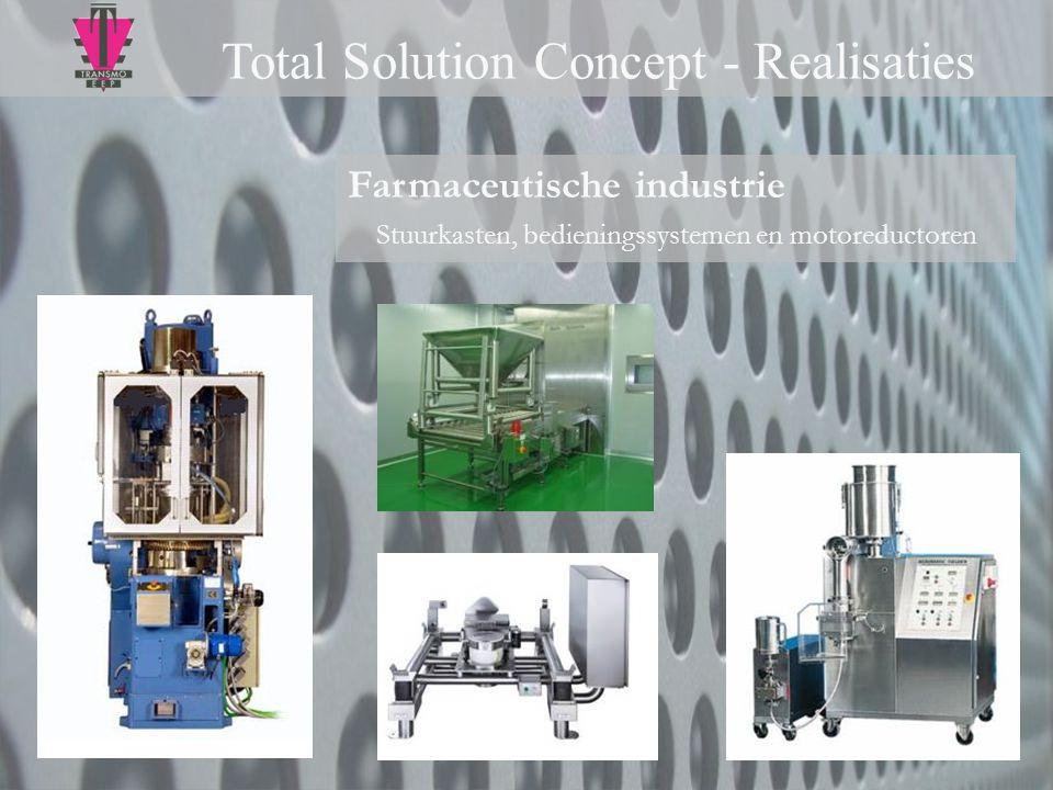 Stuurkasten, bedieningssystemen en motoreductoren
