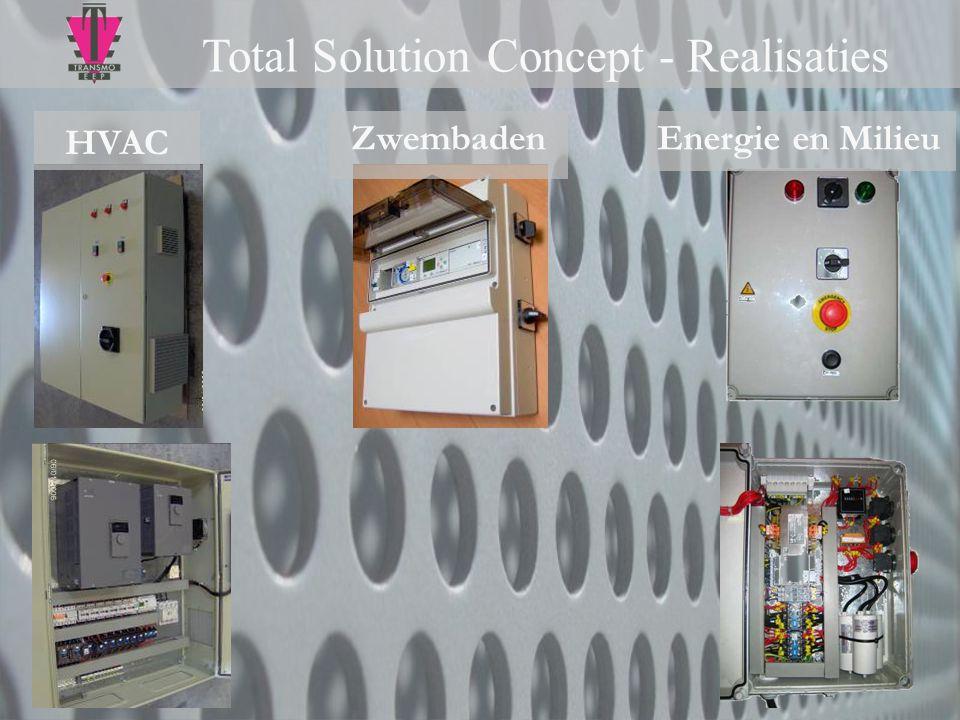 Total Solution Concept - Realisaties