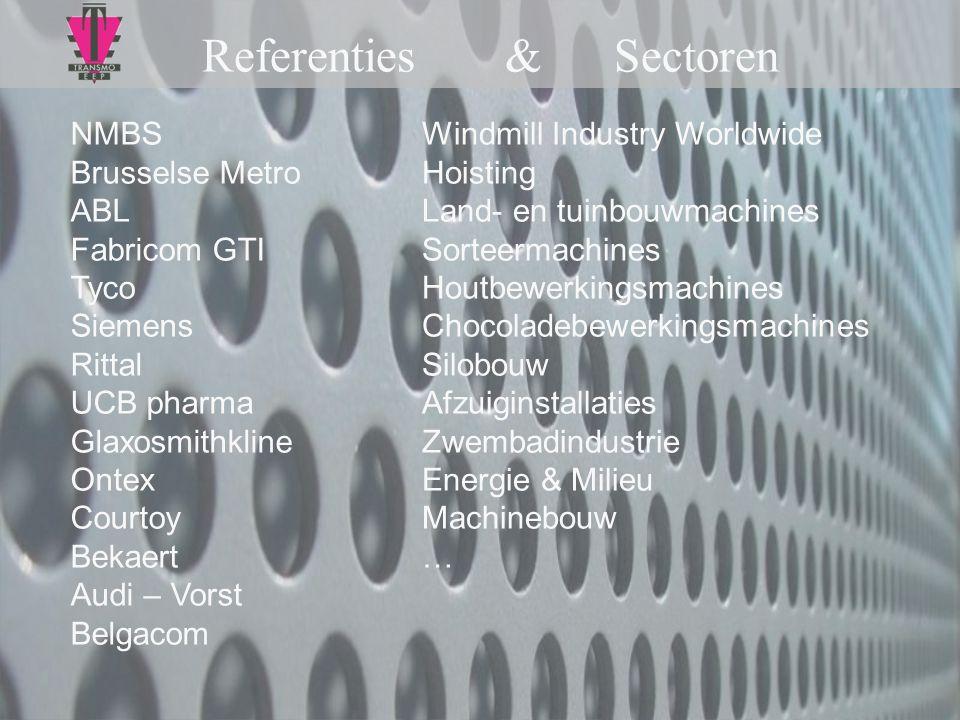 Referenties & Sectoren