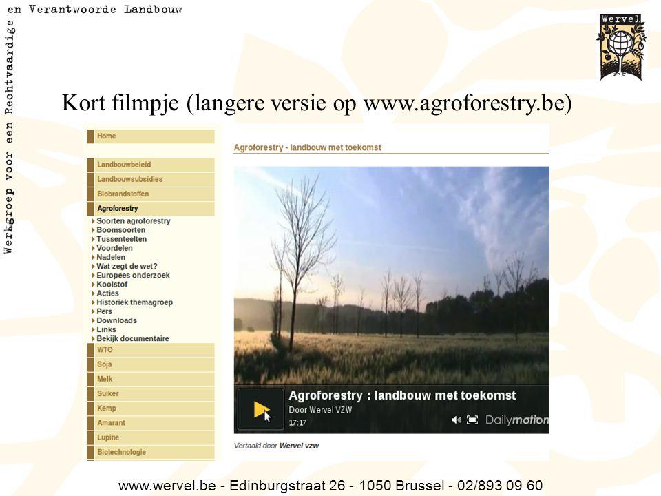 Kort filmpje (langere versie op www.agroforestry.be)