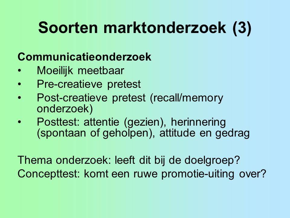 Soorten marktonderzoek (3)
