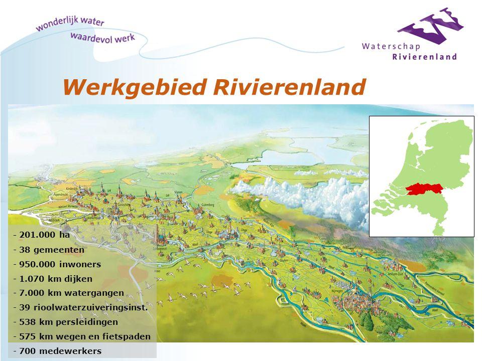 Werkgebied Rivierenland