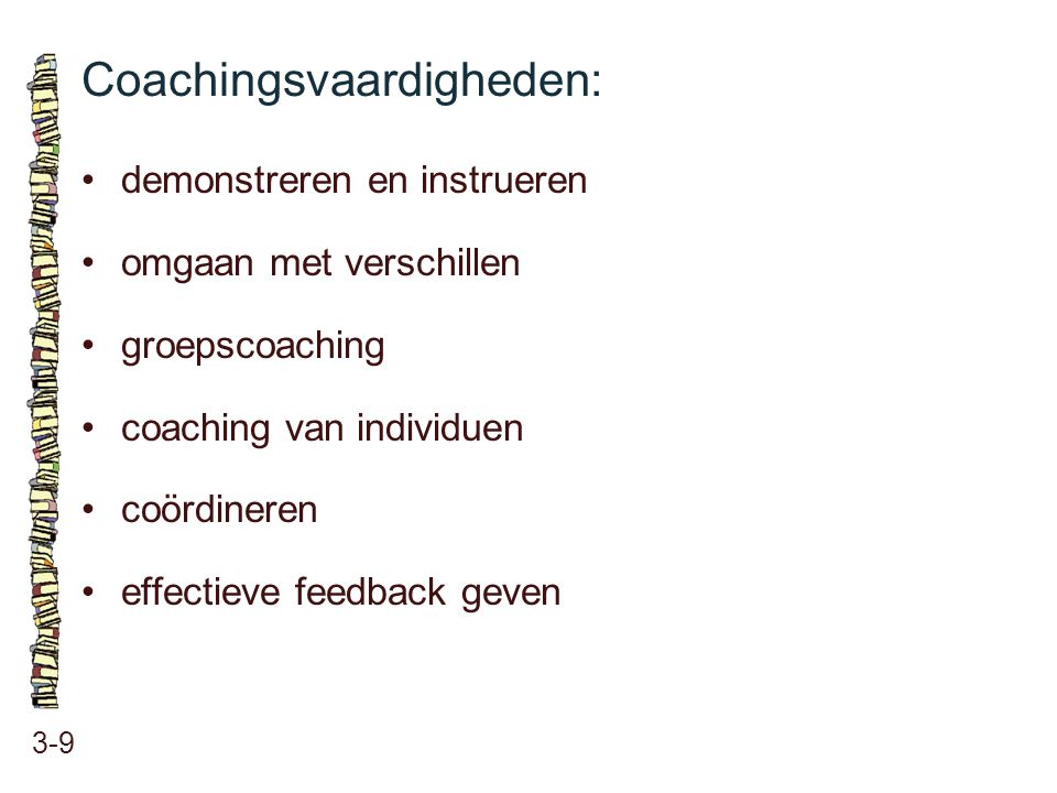 Coachingsvaardigheden: