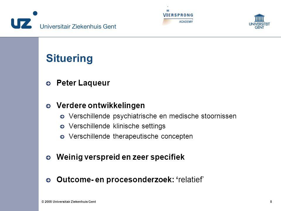 Situering Peter Laqueur Verdere ontwikkelingen