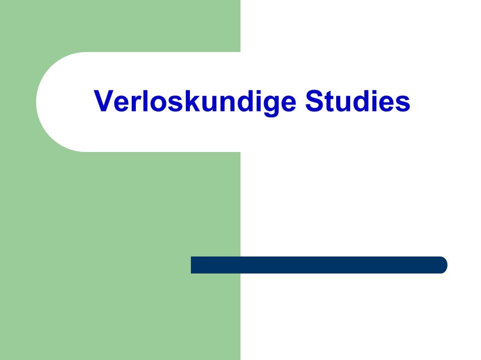Verloskundige Studies
