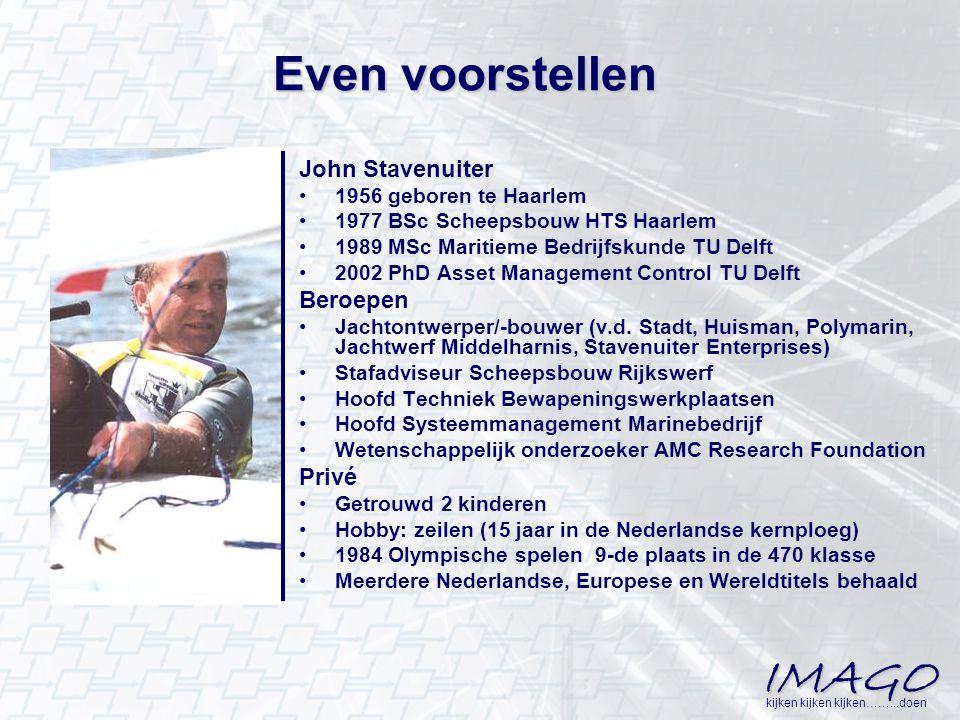 Even voorstellen John Stavenuiter Beroepen Privé