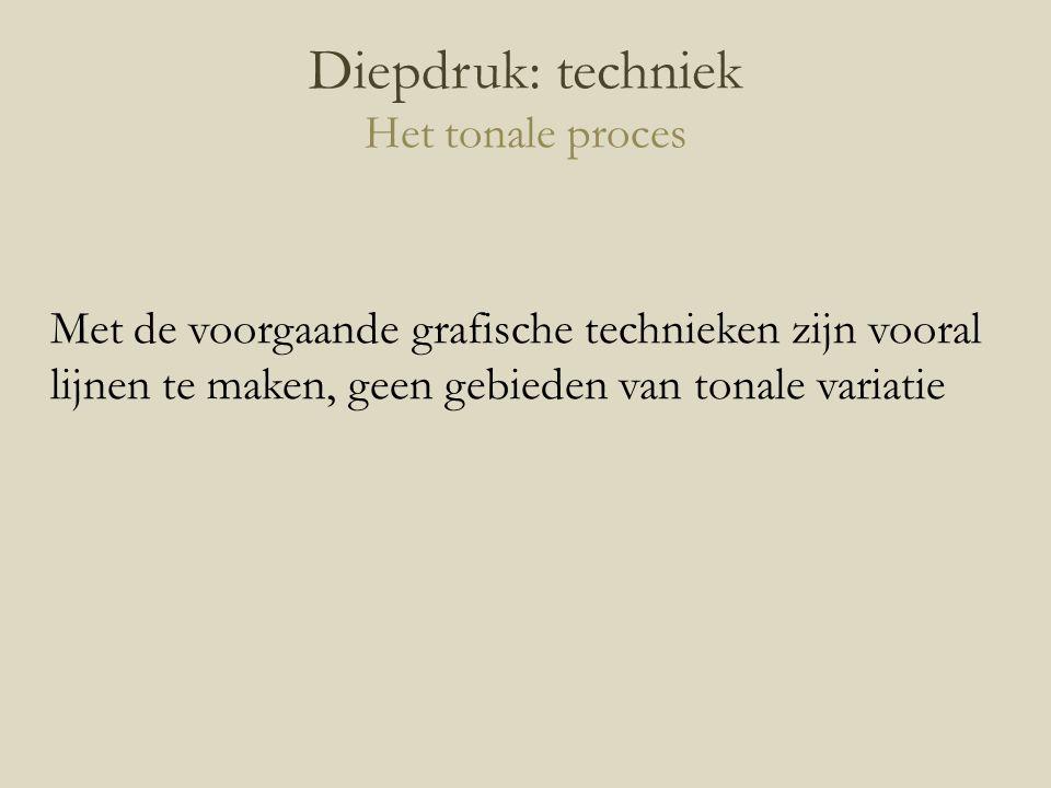 Diepdruk: techniek Het tonale proces