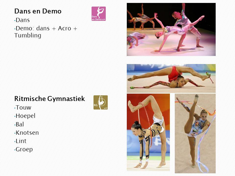 Dans en Demo Ritmische Gymnastiek Dans Demo: dans + Acro + Tumbling