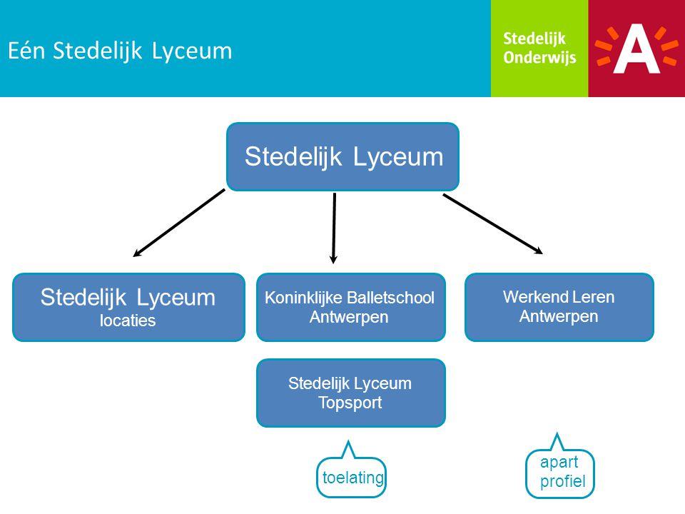 Eén Stedelijk Lyceum Stedelijk Lyceum Stedelijk Lyceum