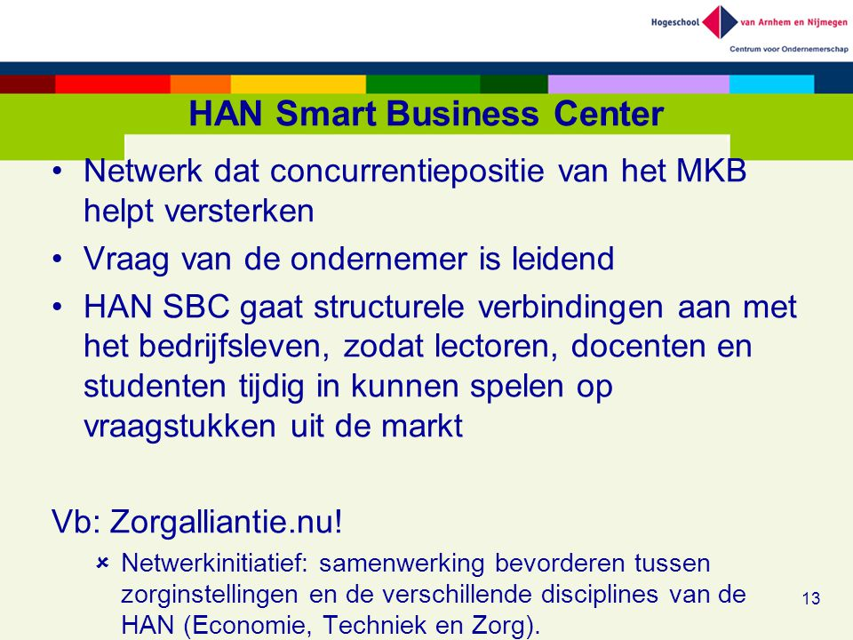 HAN Smart Business Center