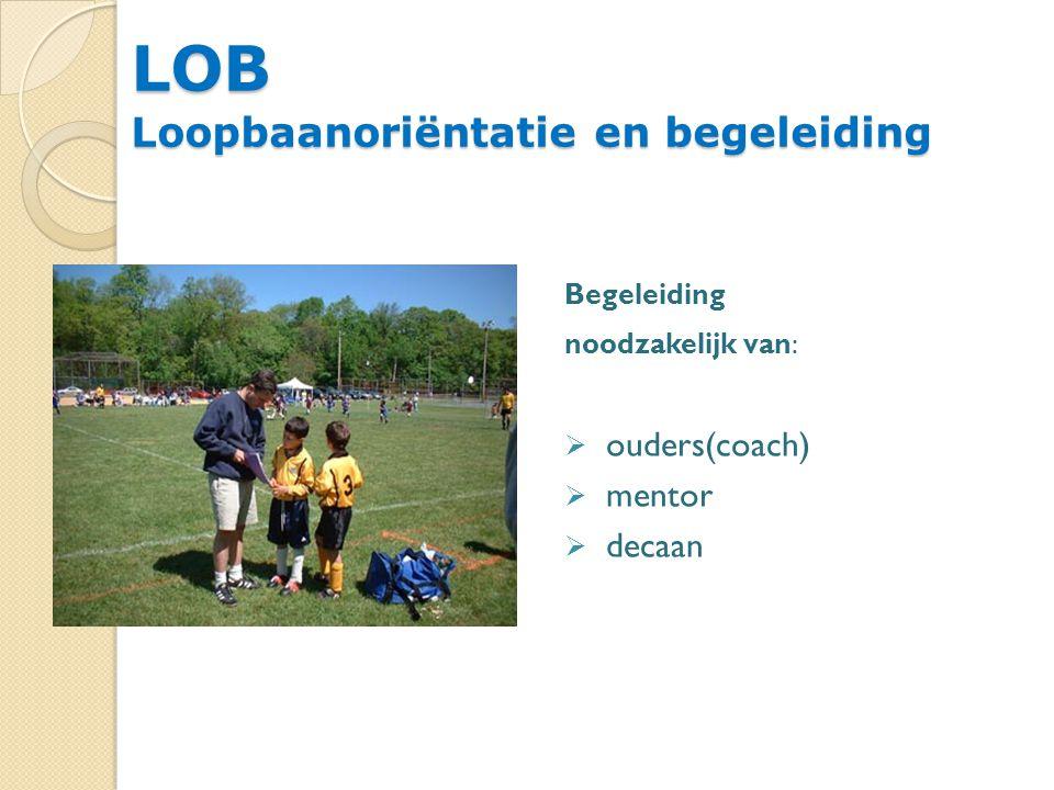 LOB Loopbaanoriëntatie en begeleiding
