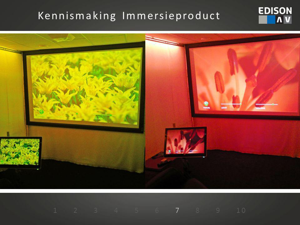 Kennismaking Immersieproduct