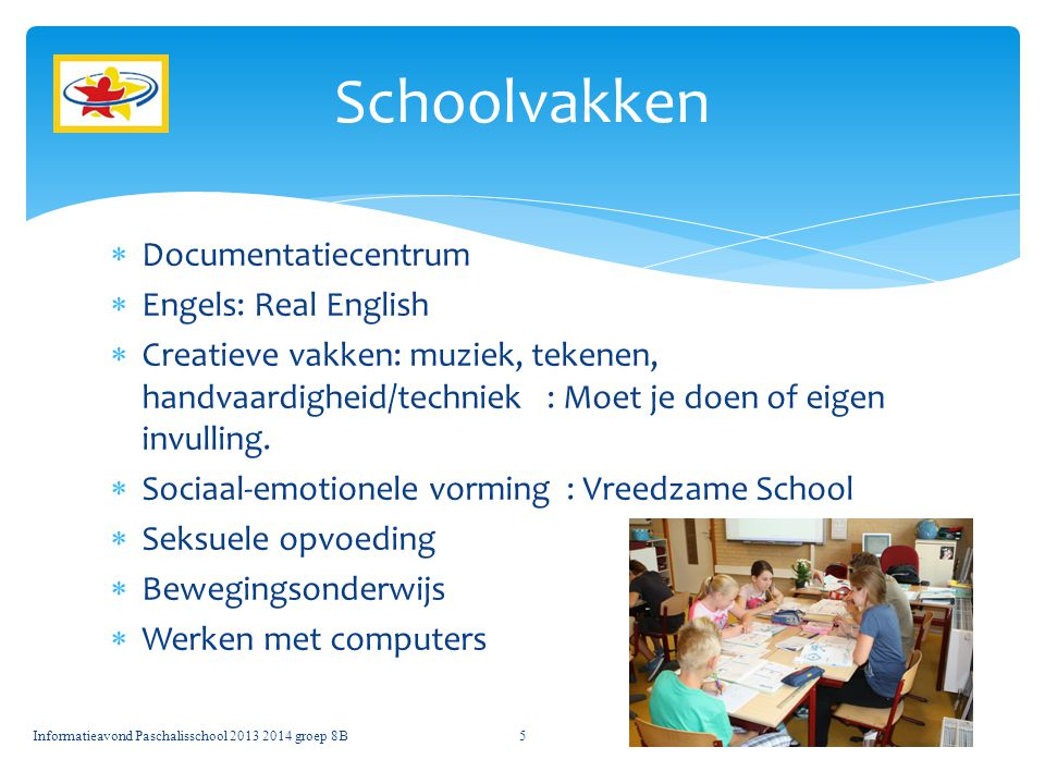 Schoolvakken Documentatiecentrum Engels: Real English