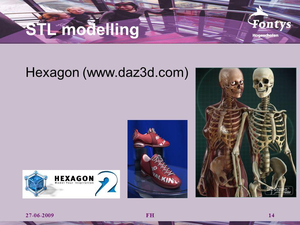 STL modelling Hexagon (www.daz3d.com) 27-06-2009 FH